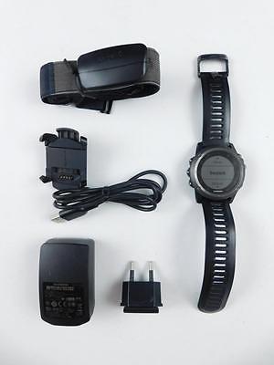 Garmin fenix 3 GPS-Multisportuhr Armbanduhr Sportuhr 1,2 Zoll Kompass Bluetooth