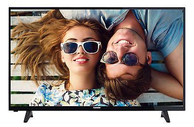 Telefunken D50F277N4CW LED Fernseher 50 Zoll Full HD DVB-C/-T2/-S2 Smart TV