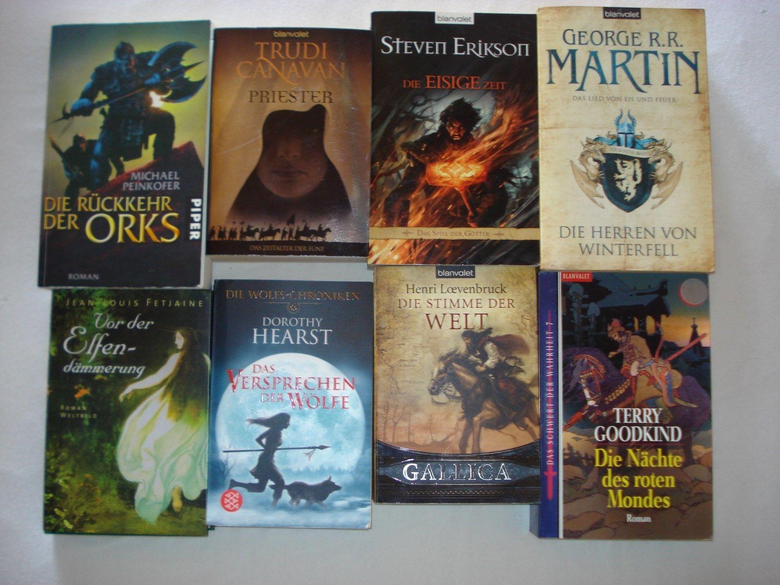 Buchpaket : 8 Fantasy Romane