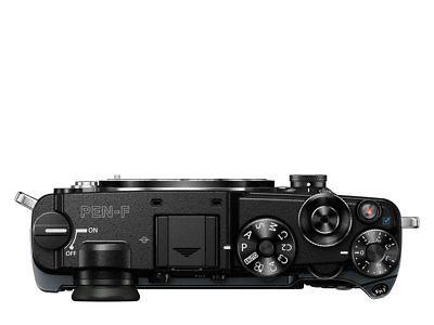 OLYMPUS Digitalkamera Camera PEN-F Systemkamera 20,3 Pix elektronischer Sucher