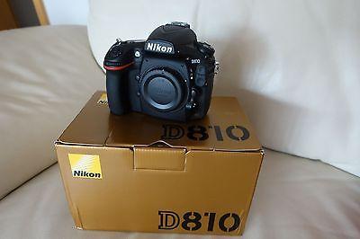 Nikon D810 - Auslösungen nur 6421
