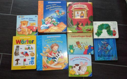 Kinderbücher Paket 9 Stck. Lernbücher