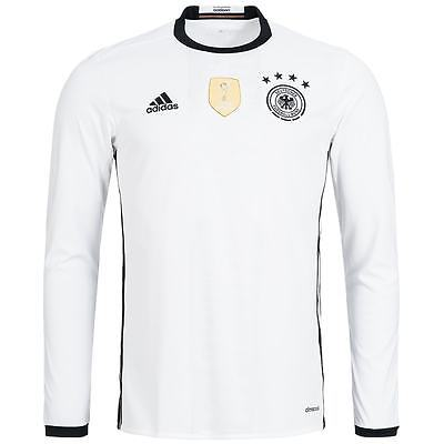 DFB Deutschland adidas Herren Heim Langarm Trikot M AA0147 Fußball Jersey neu
