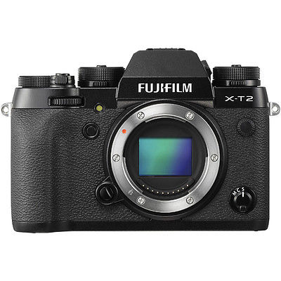 NEU Fujifilm XT2 X-T2 Digital Camera - Black Schwarz (Body Only)