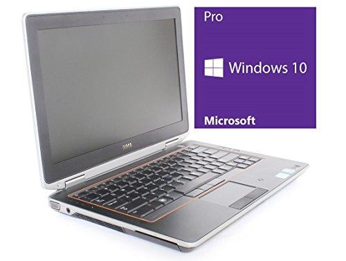 Dell Latitude E6320 Notebook   13.3 Zoll Display   Intel Core i5-2540M @ 2,6 GHz   4GB DDR3 RAM   500GB HDD   DVD-Brenner   Windows 10 Pro vorinstalliert (Zertifiziert und Generalüberholt)