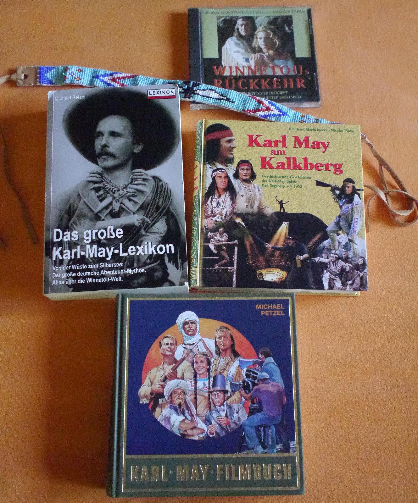 Karl May Sammlung (Bücher und Soundtrack)