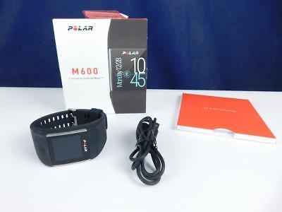 POLAR Smartwatch M600, Black, M/L, Fitnesstracker, Aktivitätentracker