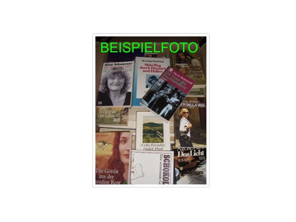 Lagerräumung! Buch Paket Bücher Flohmarkt Sachbücher Romane 80 Stück auswählbar
