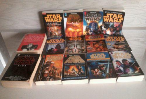 Star Wars Bücher Sammlung. 14 Stück