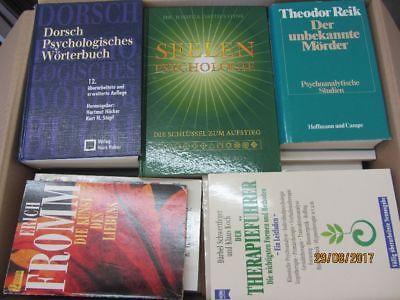 62 Bücher Psychologie Psychotherapie Seelenkunde Paarberatung Diagnose