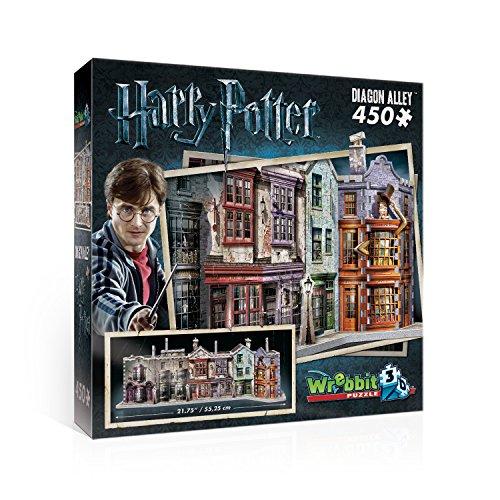 Wrebbit 3D W3D-1010 - Winkelgasse - Harry Potter 3D-Puzzle