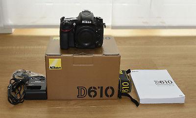 Nikon D610 Gehäuse, OVP, ca. 4500 Auslösungen