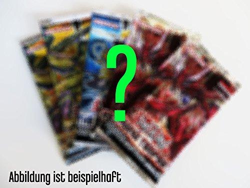 Yu-Gi-Oh! 5 Booster auf deutsch, aus mind. 3 verschiedenen Editionen, 9 Karten pro Booster