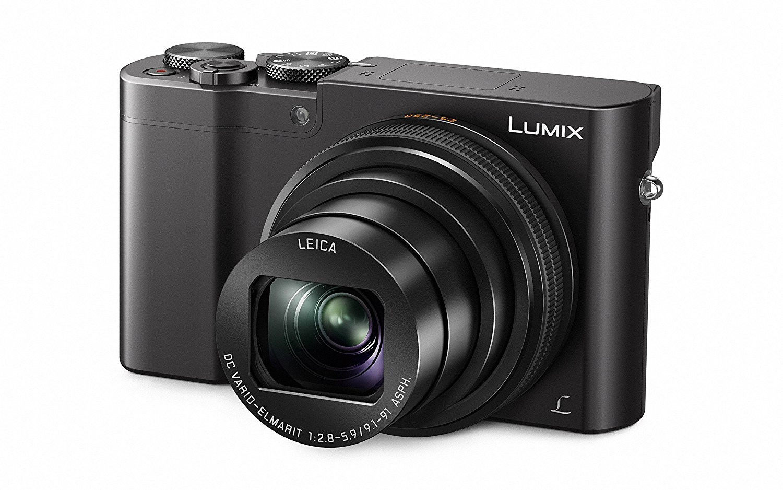 Panasonic Lumix DMC-TZ101EGK schwarz 20,1 Megapixel 10-fach opt.Zoom