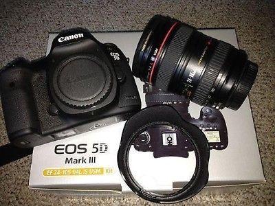 Canon EOS 5D Mark III 22.3 MP DSLR - unter 40.000 Auslösungen