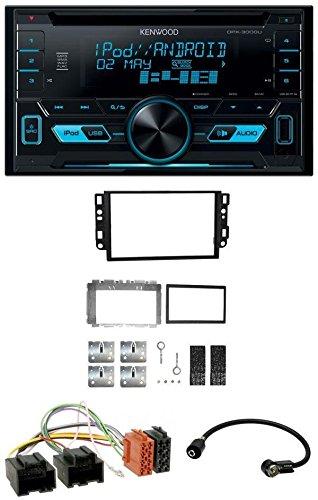Kenwood DPX-3000U 2DIN USB AUX MP3 CD Autoradio für Chevrolet Aveo Epica Captiva 06-11