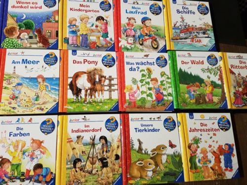 Wieso Weshalb Warum Junior 13 Bücher 2-4 Jahre