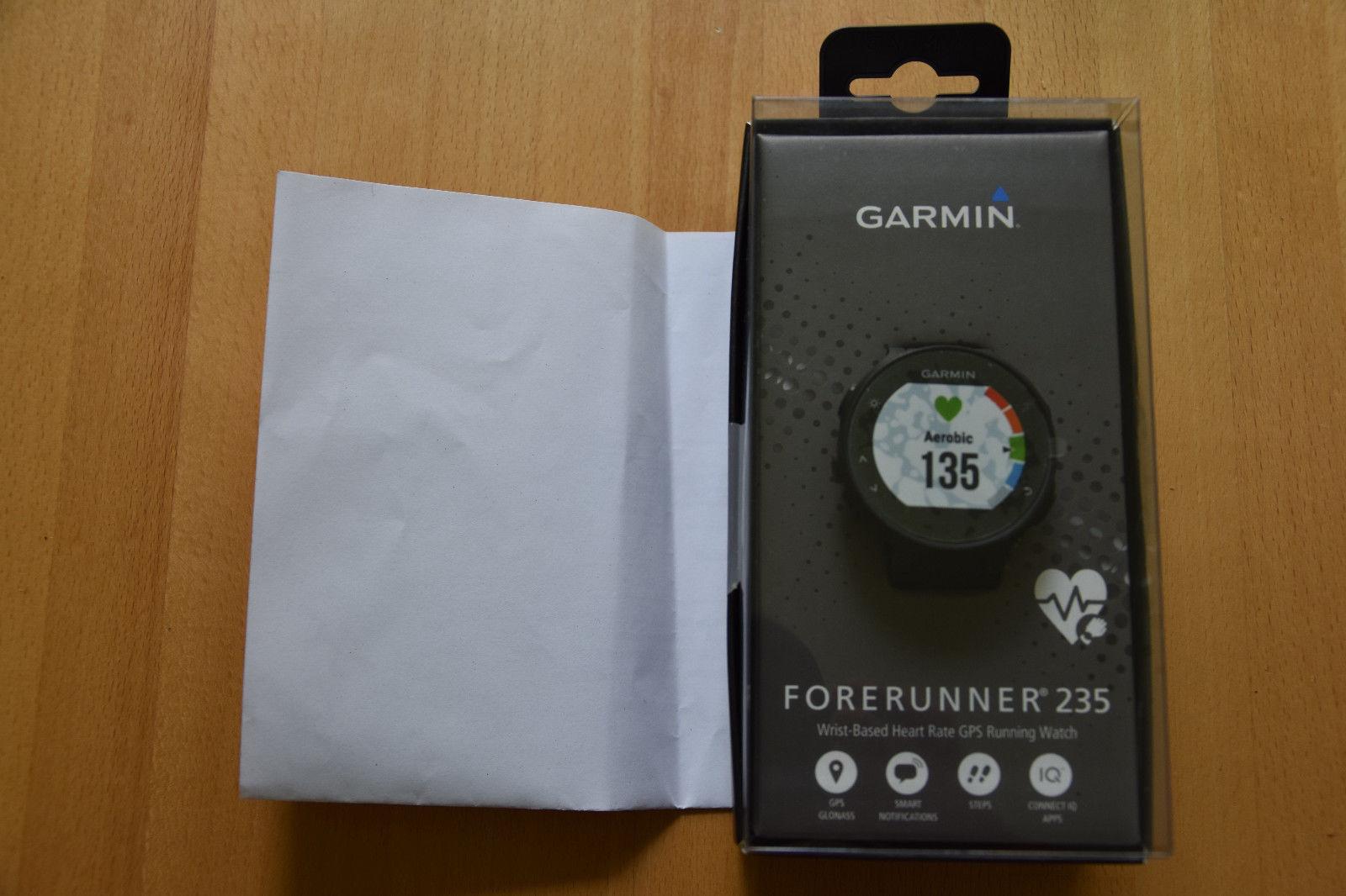 Garmin Forerunner 235, schwarz - NEU und ovp - UVP 349 € incl. Rg. vom 17.08.17