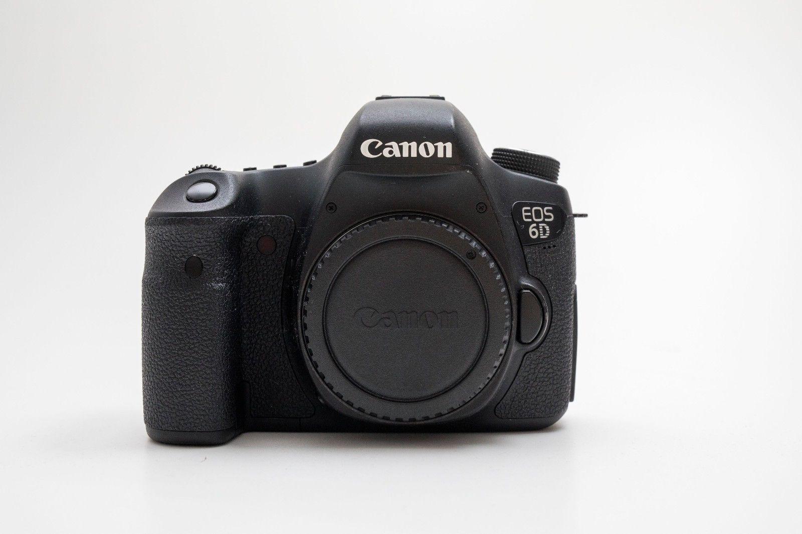 Canon EOS 6D 20,2 MP VOLLFORMAT SLR- - GPS/WLAN Body ca. 15.500 Auslösungen