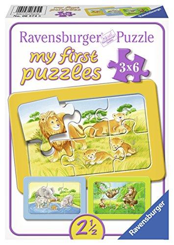 Ravensburger 06574 - Affe, Elefant und Löwe