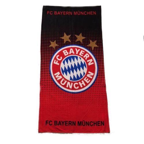 Strandtuch FC Bayern München 100% Baumwolle Badetuch Handtuch
