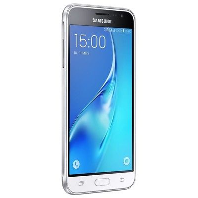 Samsung Galaxy J3 (2016) J320F white Android Smartphone Handy ohne Vertrag WOW!