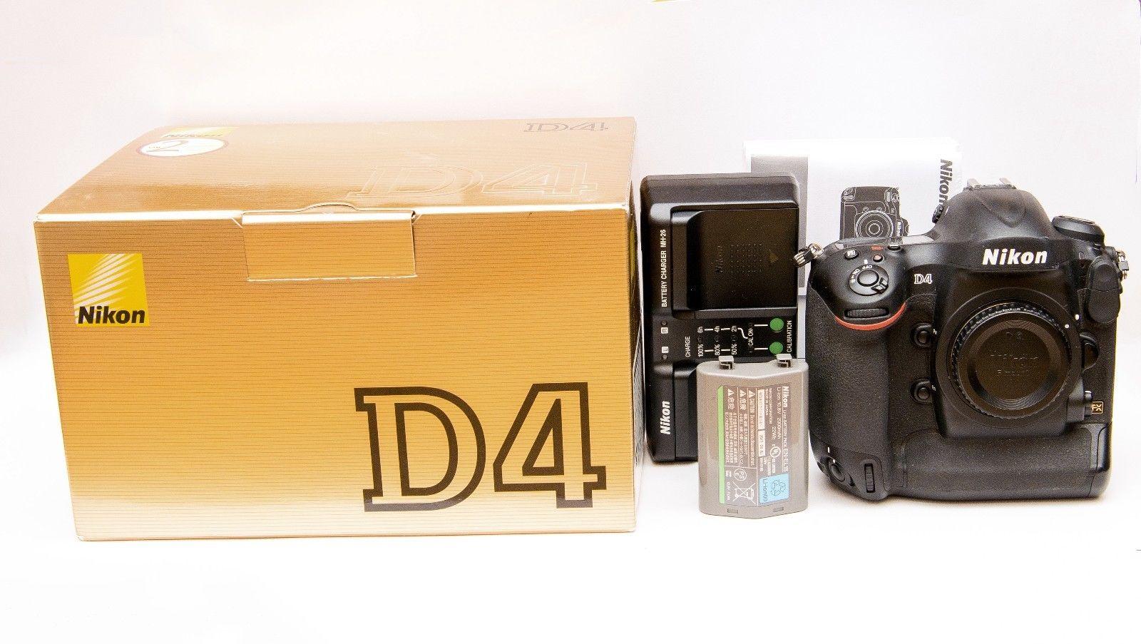 Nikon D4 Profi-Digitalkamera in Orginalverpackung, Europäische Ware(nur Gehäuse)