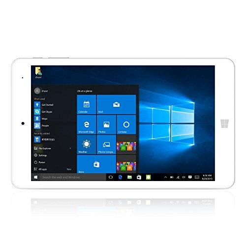 CHUWI Hi8 Pro Tabet PC 8 Zoll Display 2GB RAM+ 32GB ROM 1920 * 1200 HD Auflösung Windows 10 Android 5.1 Quad-Core 1.44GHZ WIFI Type-c Dual Kamera 2.0MP Weiße Farbe