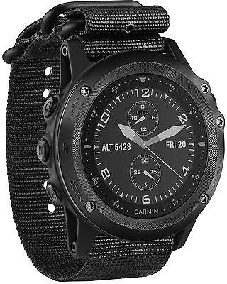 Uhren Garmin Tactix Bravo Black Nylon Strap Sport GPS Tactical Men Army Wrist