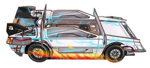 Zeitreisewagen für Colt Express *NEU*