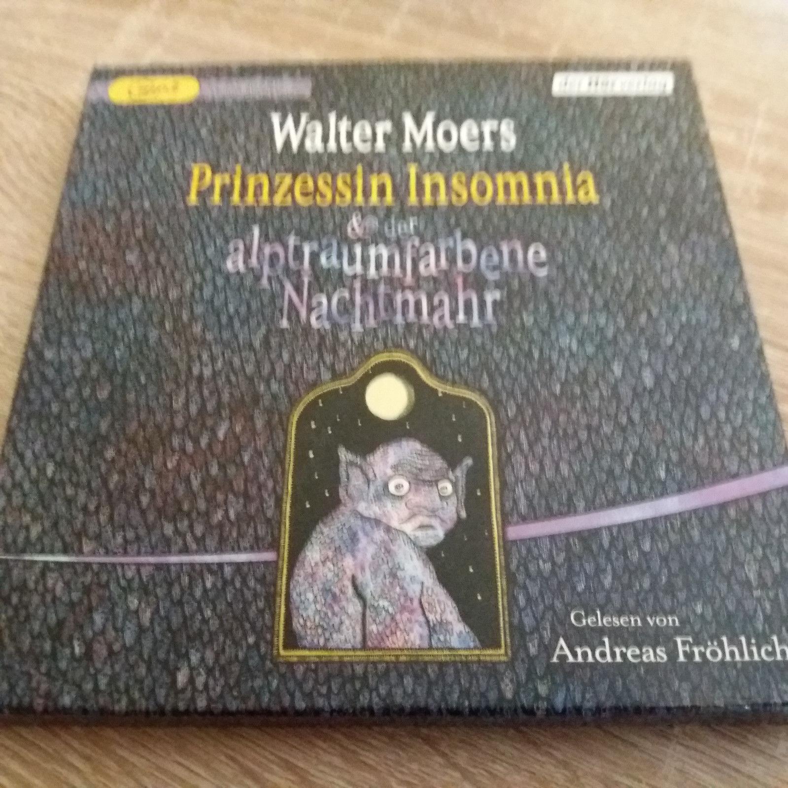 Hörbuch Walter Moers - Prinzessin Insomnia & der alptraumhafte Nachtmahr MP3-Cd