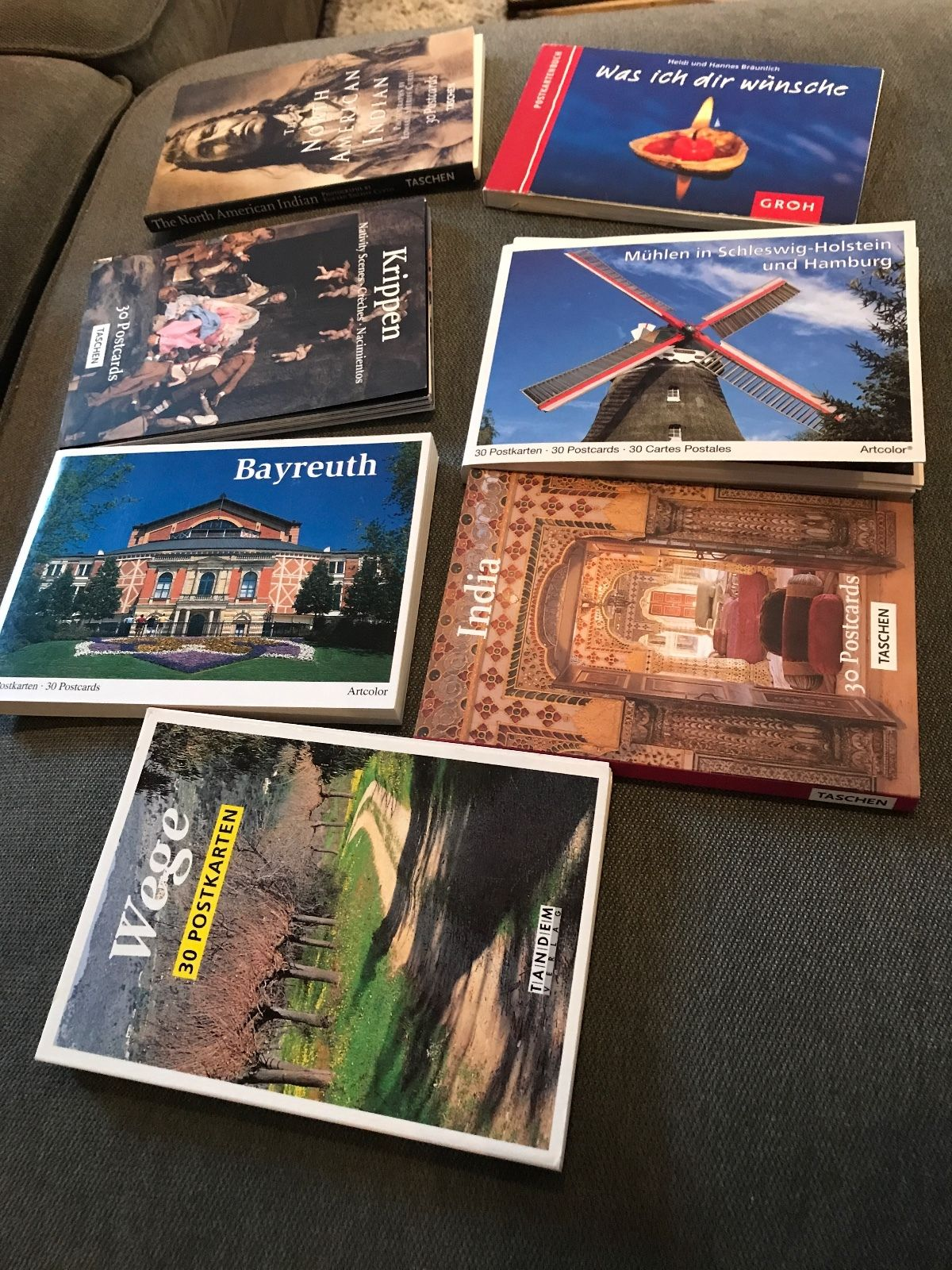 180 Ansichtskarten Postkartenbuch Postcrossing Postkarten