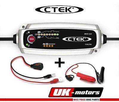 CTEK MXS 5.0 Batterie Ladegerät 12V Auto Motorrad PKW KfZ Temperaturkompensation