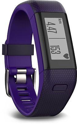 Garmin Vivosmart HR+ lila regular Herzfrequenzmessung am Handgelenk