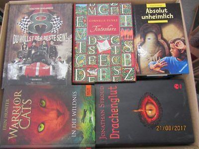 48 Bücher Jugendromane Jugendbücher junge Leser für Jungen Top Titel
