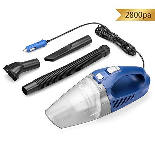 EZfull Auto staubsauger Handstaubsauger 12V Mini Autostaubsauger Trocken /Nass handstaubsauger für Auto 5M/2800Pa