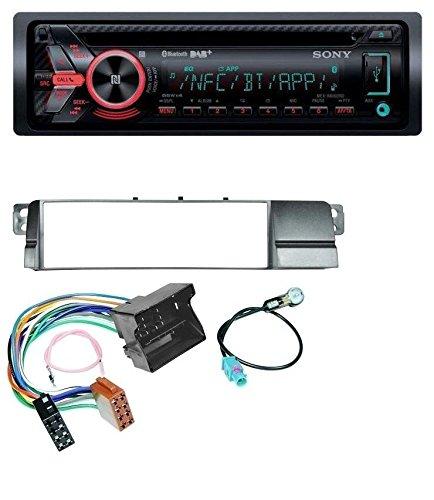 Sony MEX-N6002BD Bluetooth MP3 CD DAB USB Autoradio für BMW 3er E46 (Quadlock)