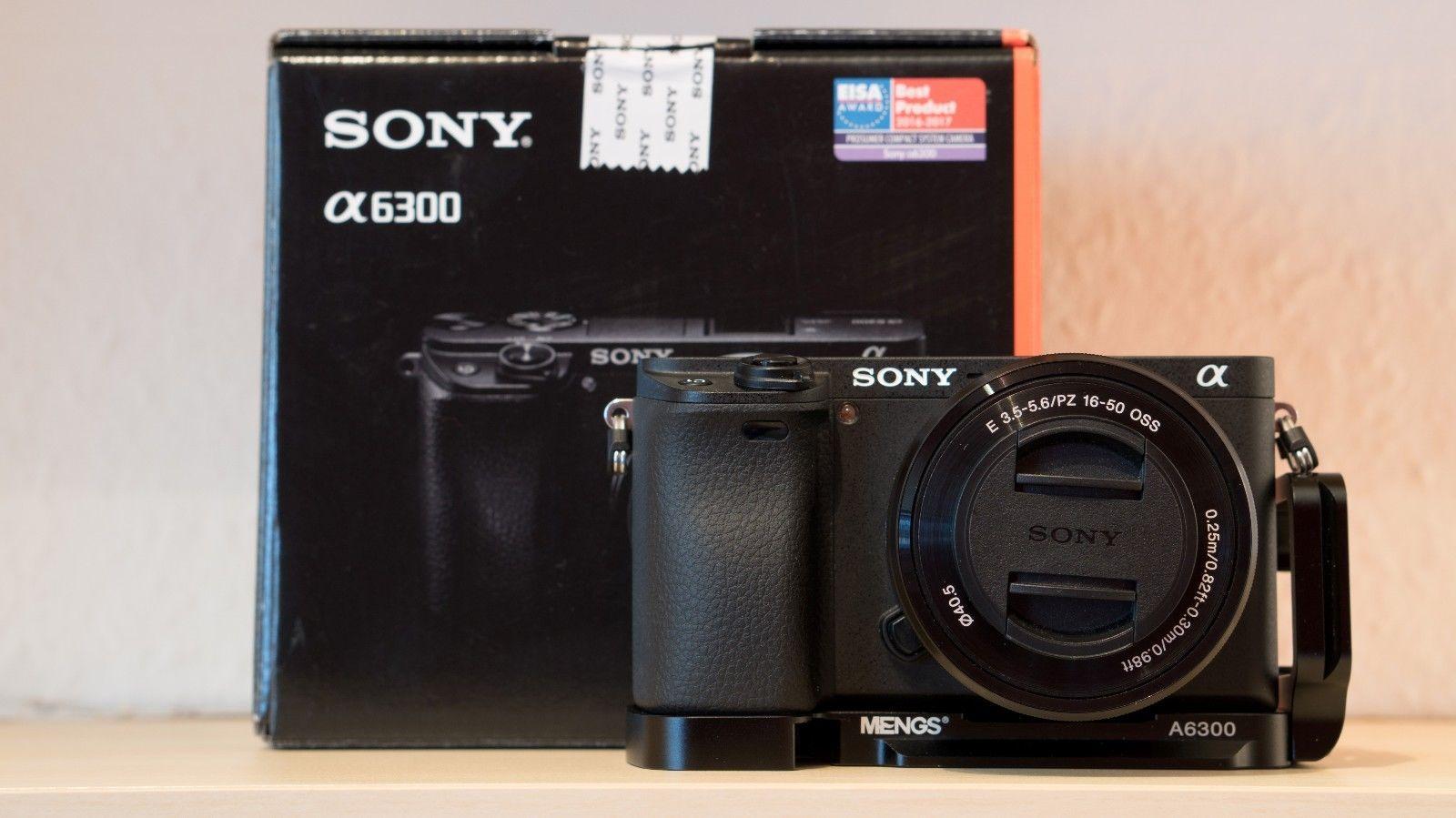 Sony Alpha 6300 (ILCE-6300L/B) mit Objektiv 16-50mm  *NEUWERTIG* - Top Zustand