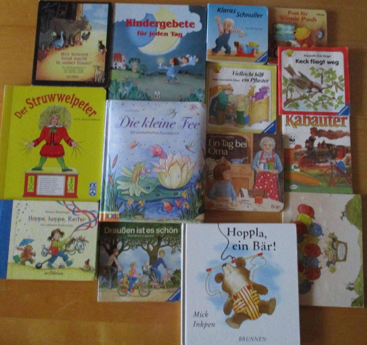 14 Kinder Bücher .s.Bild