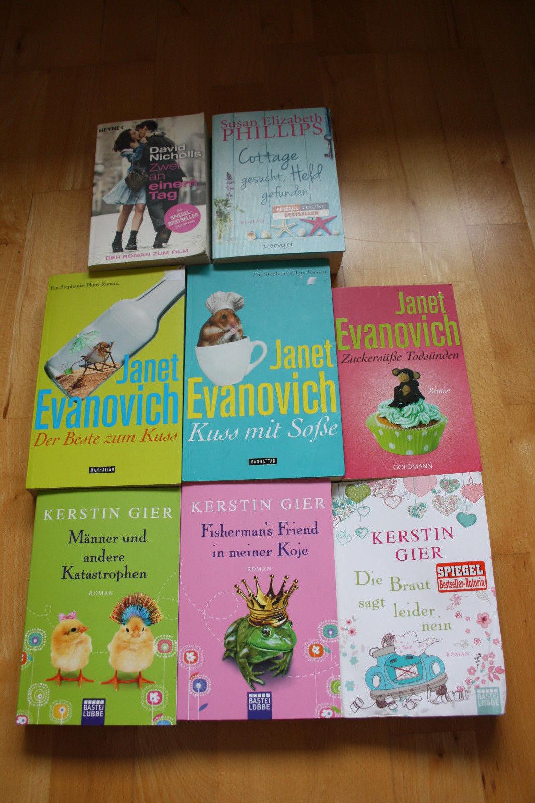 Bücherpaket - 8 Frauenromane