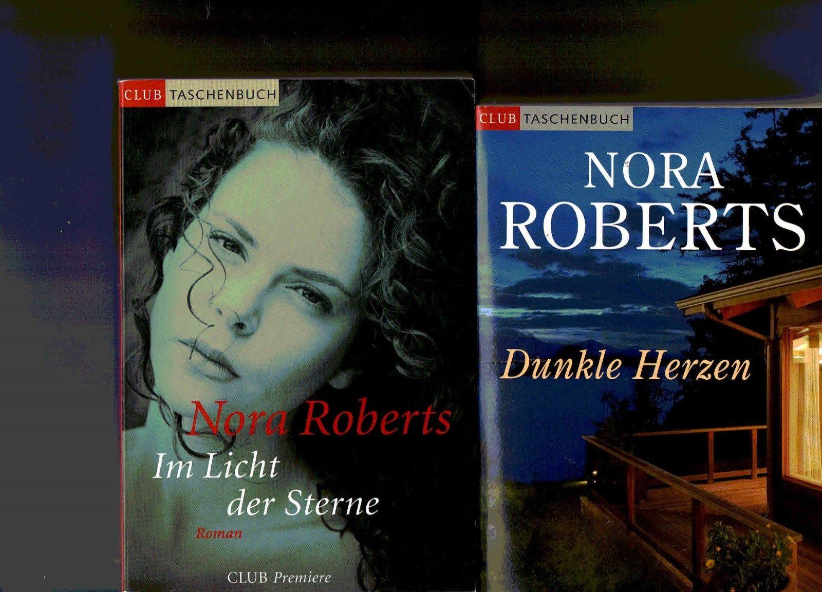 Bücherpaket Nora Roberts: Im Licht der Sterne + Dunkle Herzen – CT-Edition toll