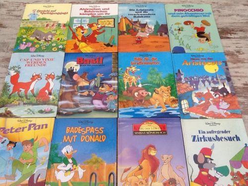 12 - Walt Disney - Kinderbücher