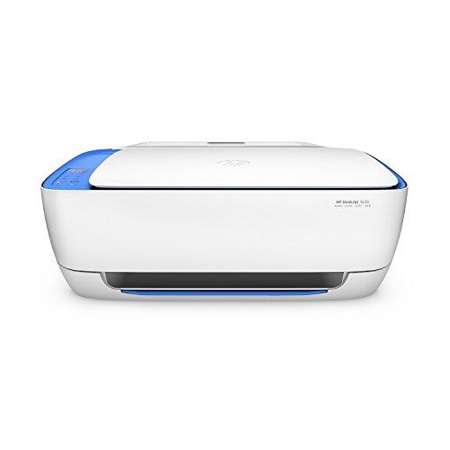HP DeskJet 3639 Multifunktionsdrucker (Drucker, scannen, kopierer, WLAN, Airprint, Instant Ink Ready) weiß/blau