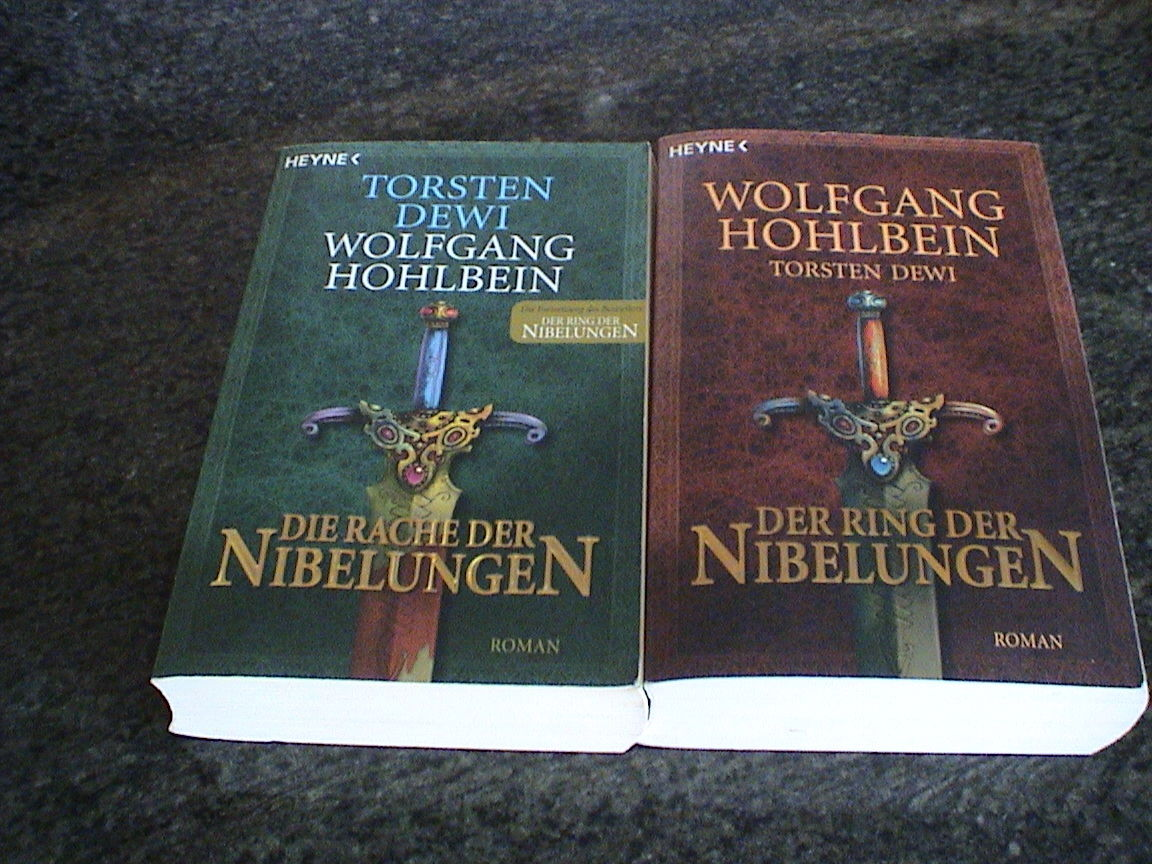 Wolfgang Hohlbein - Der Ring der Nibelungen + Die Rache der Nibelungen
