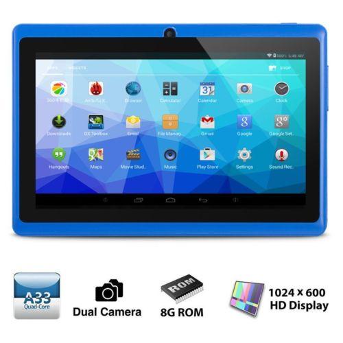 XGODY 7'' ZOLL Quad Core Dual Camera Tablet PC Android 4.4 KitKat 8GB HD WIFI