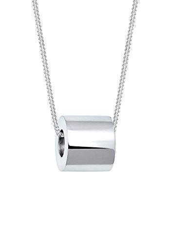 Elli Damen-Kette mit Anhänger Geo 925 Silber 45 cm - 0102542717_45