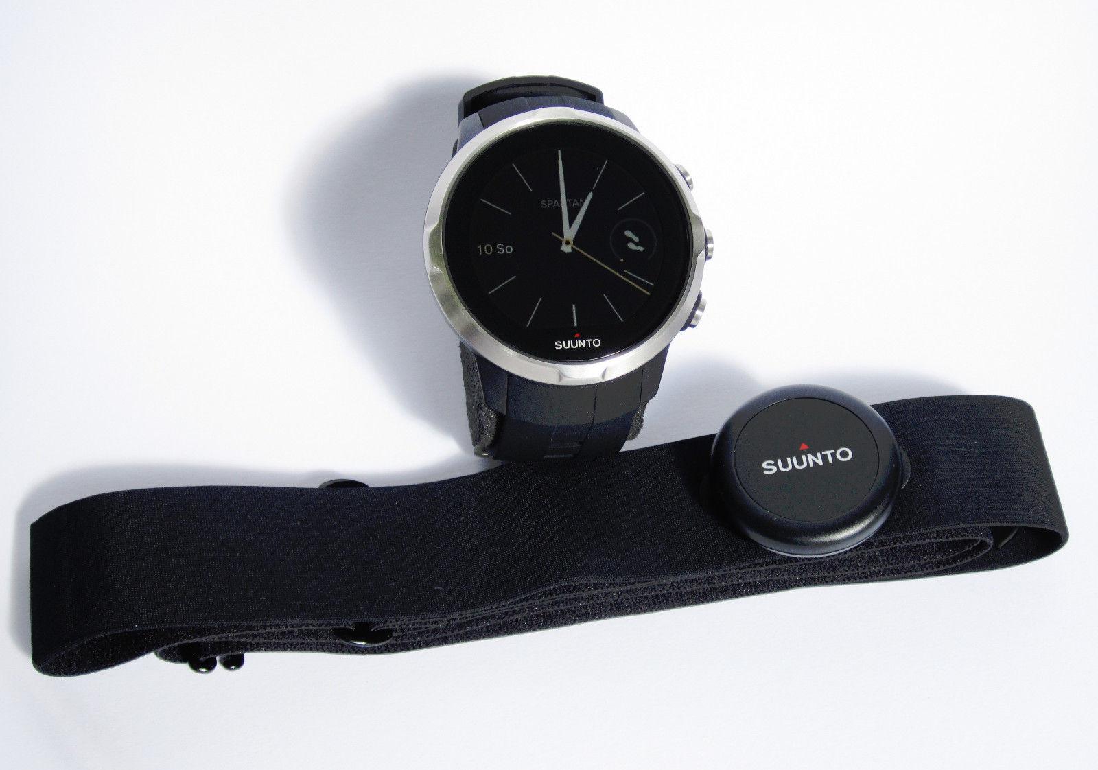 Suunto Spartan Sport Black HR (mit Brustgurt) - neuwertig