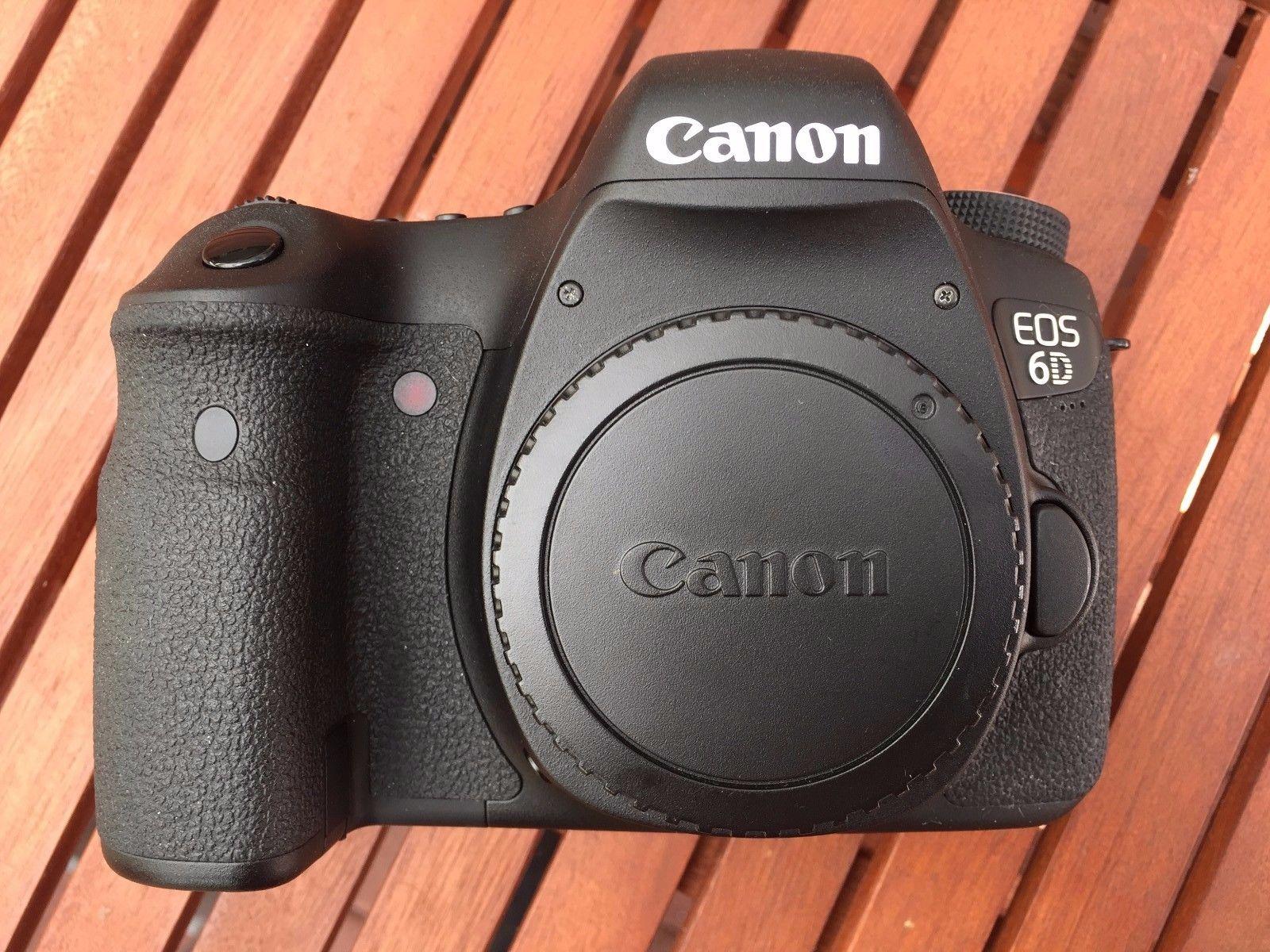 Canon EOS 6D 20.2MP Digitalkamera  !!! 921 Auslösungen !!!