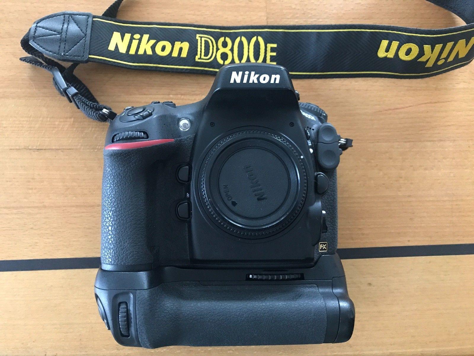 Nikon D D800E 36.3 MP SLR- Digitalkamera mit Motor MB-12 und Rechnung