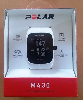 Polar M430 GPS Laufuhr Pulsuhr weiß - NEU+OVP